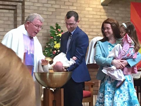 The Makin family from Wigan raised £500 for Laughter Africa. Proud parents Alison and Stephen recently had another new addition to their family called James Patrick. He was baptised at Corpus Christi Church in Rainford. Instead of receiving baptism gifts they asked their friends and family if they could donate to 'big James's' charity instead.