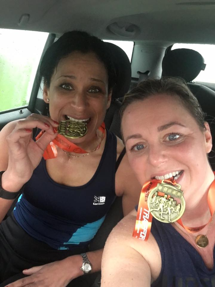 Sacha Byrne ran the Trafford 10km run on Sunday 5th March to raise money for Laughter Africa