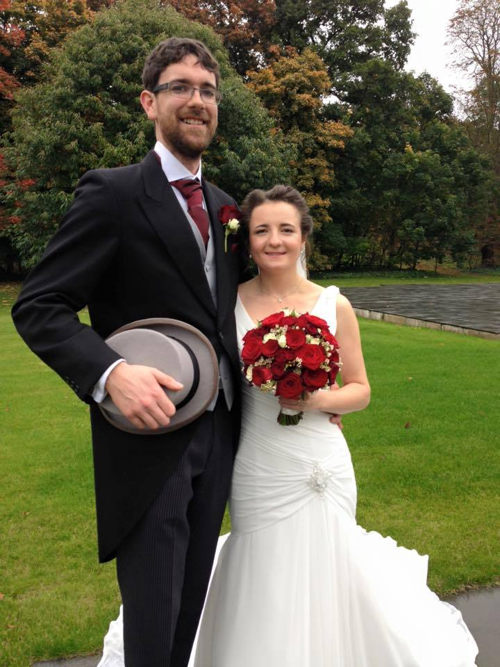 Kate Fearon and David Evans married on Saturday 24th October 2015. Rather than ask for presents, Kate and David decided to ask guests instead to give donations to Laughter Africa or a local hospice.