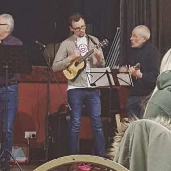 Alison Benson organised another Ukelele-athon on 2nd March 2018  at St Anne's.